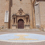 Iglesia de El Salvador, en La Roda (Albacete).