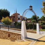 Ermita de la Virgen del Espino, en Membrilla, donde se celebran las fiestas y verbenas de la localidad.