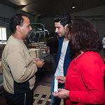 Los toreros Cayetano Rivera y Alberto López Simón visitan las instalaciones de ASPRONA