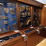 La colección de Caja Castilla-La Mancha constituye una verdadera joya dentro del Museo de la Cuchillería.