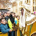 Sus Majestades los Reyes Magos de Oriente.