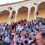 El presidente de la plaza de toros de Albacete no estuvo este jueves a la altura de las circunstancias y negó una oreja de ley al diestro Alberto López Simón en su primer toro. La bronca del público fue de las que hacen época. Lamentable su actuación.