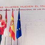 El vicepresidente primero de Castilla-La Mancha, José Luis Martínez Guijarro, preside, en el Teatro Municipal de Tomelloso, el acto institucional con motivo de la celebración del Día Internacional de las Mujeres. (Fotos: José Ramón Márquez // JCCM)
