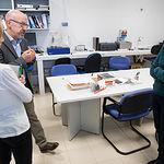 Santiago Castaño, director del Instituto de Desarrollo Regional (IDR), nos enseña las instalaciones del centro.