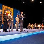 Los integrantes del grupo Muchachada Nui recibieron el título de Hijo Prelilecto de Castilla-La Mancha.