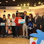 Entrega de los premios Emprendedor XXI organizados por Caixa Bank.