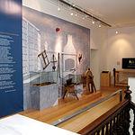 Útiles  representativos de un antiguo taller de navajas. Museo de la Cuchillería de Albacete.