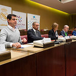 Ratificación del convenio entre la Fundación Real Madrid, el Ayuntamiento albaceteño, la Fundación de la Federación de Fútbol de Castilla-La Mancha y Cruz Roja Española para la puesta en marcha de la Escuela Socio-deportiva de Albacete
