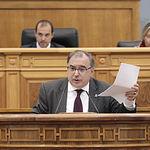 Fernando Mora, presidente del grupo socialista en las Cortes de Castilla-La Mancha. Foto: CARMEN TOLDOS
