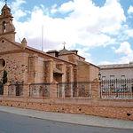 """Ermita de San Cosme y San Damián, popularmente llamada """"El Cristo de la Columna"""", en Bolaños de Calatrava (C.Real)."""