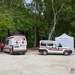 Ambulancias de Cruz Roja Albacete.