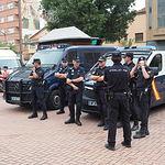 Punto de Seguridad en la Feria de Albacete 2018.