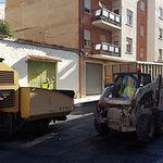 Manuel Serrano presenta el nuevo Plan de Asfaltado del Ayuntamiento de Albacete.