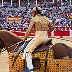 Agustín Moreno - Picador - Feria Taurina de Albacete.