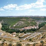 Alcalá del Júcar está enclavada en un marco natural de gran belleza.