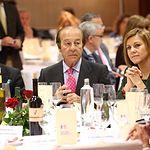 IX Premios Taurinos Samueles. En la imagen, de iz. a d., Enrique Ponce, Samuel Flores, María Dolores Cospedal y Manuel Lozano.