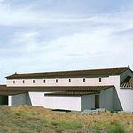 Reconstrucción virtual de la basílica que podrá contemplarse en el Centro de Interpretación.
