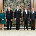 Pedro Sánchez promete cargo presidente ante Felipe VI - 02-06-18 - Foto Casa Real