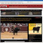 Todas las corridas de la Feria de Albacete pueden visualizarse en la Web www.lacerca.com.