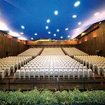 """Uno de los salones del Palacio de Congresos """"Ciudad de Albacete""""."""