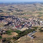 La población de Higueruela, en la provincia de Albacete, posee uno de los parques eólicos más grandes de España.