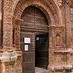 Portada Alhorí, actual Centro de Información Turístico de Alcaraz.