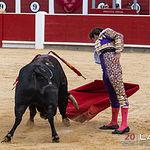 Feria taurina Albacete - El Juli - Su primero.