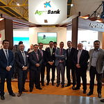Stand de Agrobank en Expovicaman