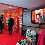 Recuerdo a Doña Manuela Agustina López Flores, madre de Samuel Flores, en la Gala de Entrega de los X Premios Taurinos Samueles, pertenecientes a la Feria Taurina de Albacete 2015