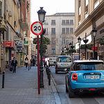 Calle Rosario en Albacete