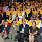 Alumnos de la última promoción de la Facultad de Medicina de Albacete.