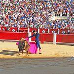 Sebastián Castella en su primer toro - 10-09-16