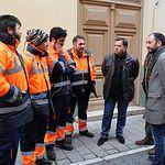 Manuel Serrano visita las instalaciones de Valoriza en Albacete