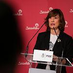 La secretaria de Estado de Empleo, Yolanda Valdeolivas, en la Casa del Pueblo de Albacete