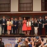 El presidente de Castilla-La Mancha, Emiliano García-Page, asiste a la entrega de los premios 'Reina Letizia 2018' que convoca el Real Patronato sobre Discapacidad en colaboración con Fundación ONCE, presidido por la Reina Doña Letizia, en el Corral de Comedias. (Foto: José Ramón Márquez // JCCM).
