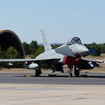 Eurofighter en la Base Aérea de Los Llanos