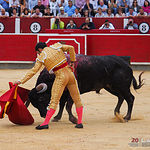 Sergio Serrano - Su primer toro - Feria Taurina 08-09-18