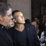 Antonio Banderas se bautiza como compositor en la Catedral de Albacete