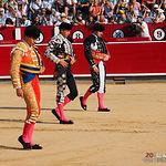 Primera corrida de abono de la Feria del Centenario de la Plaza  de Toros de Albacete.