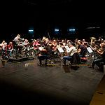 Ensayo de la Banda Sinfónica Municipal en el Teatro Circo de Albacete