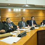 El consejero de Hacienda y Administraciones Públicas, Juan Alfonso Ruiz Molina, comparece en la Comisión de Economía y Presupuestos de las Cortes regionales al objeto de informar sobre el proyecto de Ley de Presupuestos Generales de la Junta de Comunidades de Castilla-La Mancha para 2017. (Fotos: Ignacio López//JCCM)