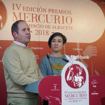 Entrega de los IV Premios Mercurio de la Federación de Comercio de Albacete