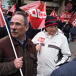 Manifestación por unas pensiones dignas en Albacete