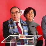 Rueda de prensa de Fernando Mora en la sede del PSOE en Albacete. Foto: Manuel Lozano Garcia / La Cerca