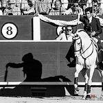 Sergio Galán - Su primer toro - ByN Corrida 10-09-17