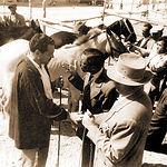 Payos y gitanos regateaban en La Cuerda el precio a pagar por el ganado.