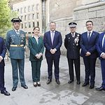 La Guardia Civil de Albacete celebra la Festividad de la Virgen del Pilar.