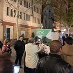Pegada de Carteles de Vox en Albacete