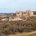 El castillo de Zorita se construyó en época emiral con piedras traídas de la ciudad de Recópolis.