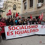 Fotos manifestación pensiones Albacete - 17-03-18